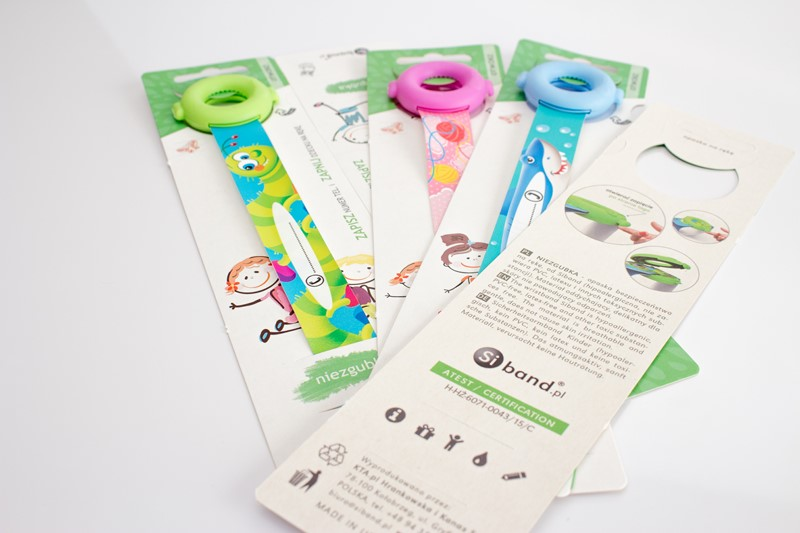 opaski na rękę dla dzieci standard ice