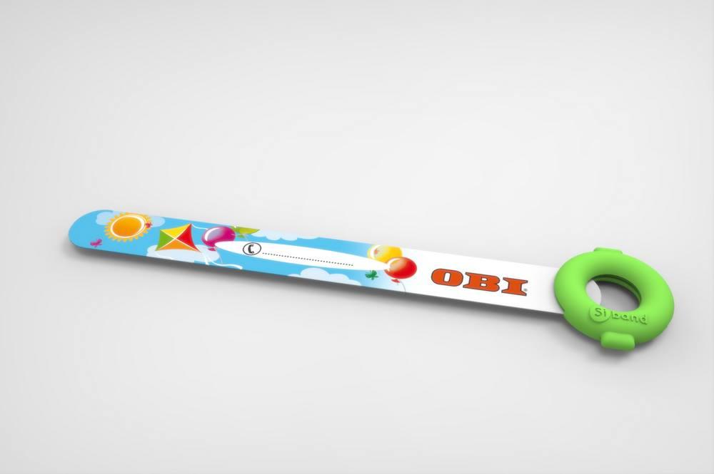Niezbędna opaska dla dziecka podczas zakupów - gadżet reklamowy dla marketów