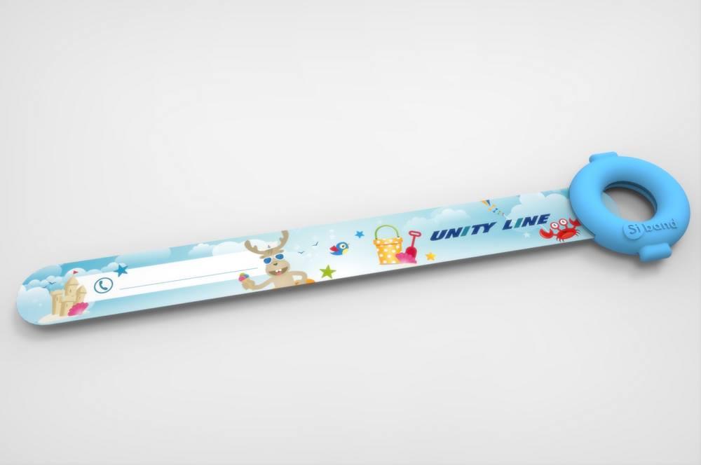 Opaska dla dziecka w podróży - niezbędny gadżet reklamowy dla firm transportu turystycznego