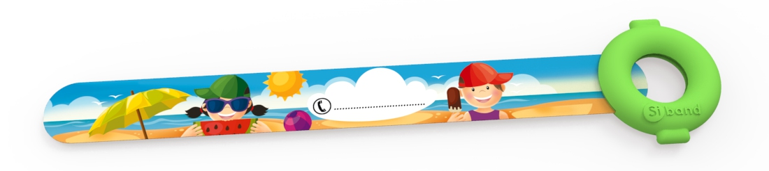 Opaski niezgubki - Dzieci na plaży - Siband