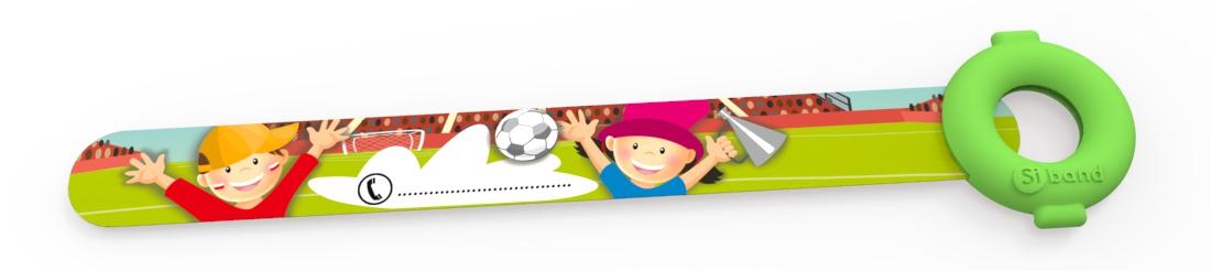 Opaska niezgubka - Mecz piłki nożnej - Siband