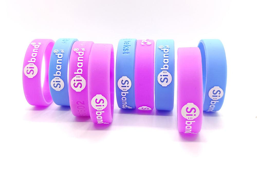 opaski silikonowe dla dzieci